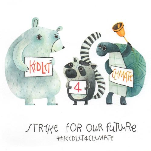 The campaign of illustrators and authors for climate justice